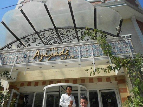 Aziyade Hotel: Hotel Aziyadé- no 7º. andar o Restaurante