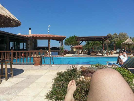 Spiros-Soula Family Hotel & Apartments : piscine
