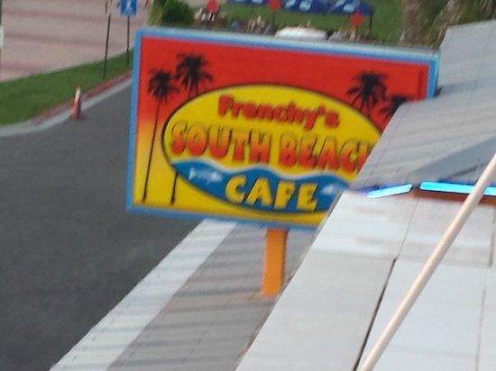Frenchy's South Beach Cafe : View from our Hotel
