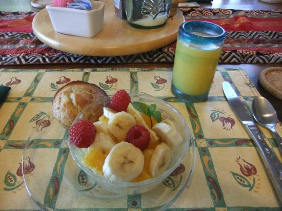 Casa de San Pedro: Delicious Breakfasts - 1st Course!