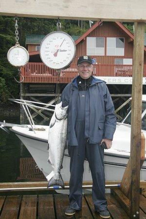 Walters Cove Resort: Nice catch!