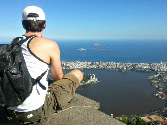 Bairro Cosme Velho: Alto do Corcovado.