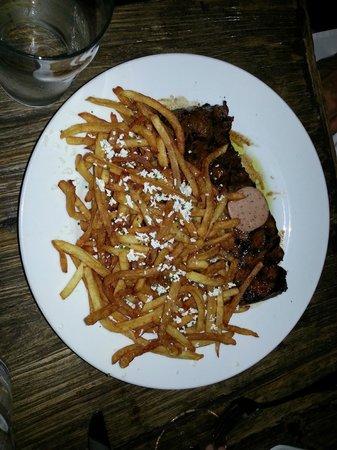 Red Drum: Strip Steak & Fries