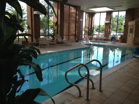 Holiday Inn Cincinnati Airport : Amazing Indoor Pool