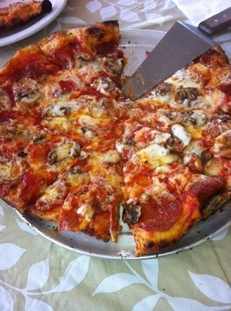 Brick Oven Cookery: yummy pizza