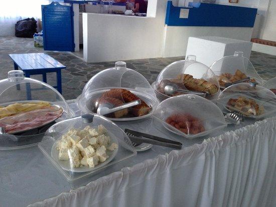 Lagada Beach Hotel: Buffet petit déj