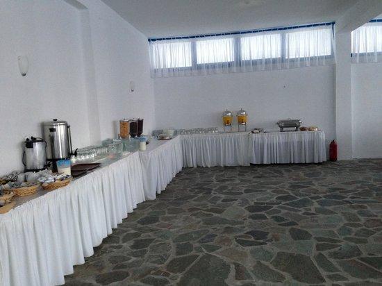 Lagada Beach Hotel: Buffet Petit dej 2
