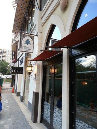 Lebanese Taverna: Entrance