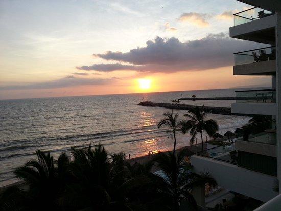 Hotel Villa Varadero: Atardecer desde la habitación