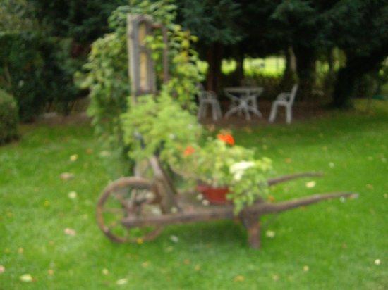 Moulin des Chennevieres : Jardin du Moulin