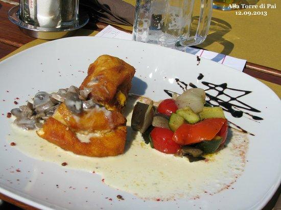 Alla Torre di Pai: Cordon bleu - very good!