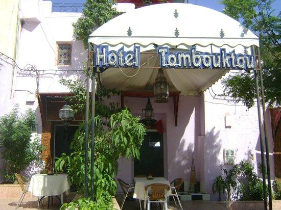 Hotel Tomboukto Fes: l'entrer de l'hôtel