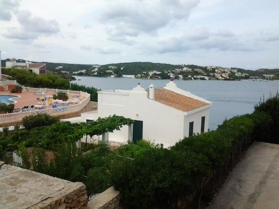 Artiem Carlos III Adults Only: View from balcony sunset room