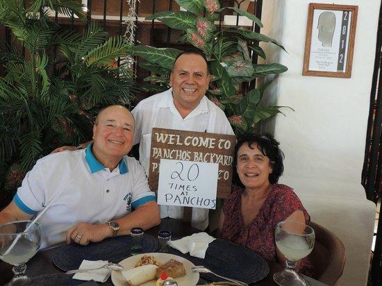 Pancho's Backyard: Buddy, Sue & Manuel
