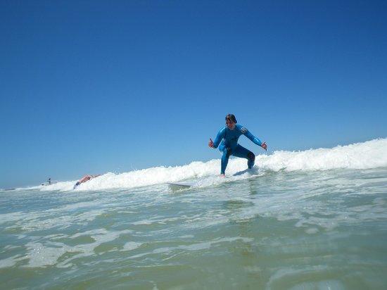 Surf At Surf School: having fun