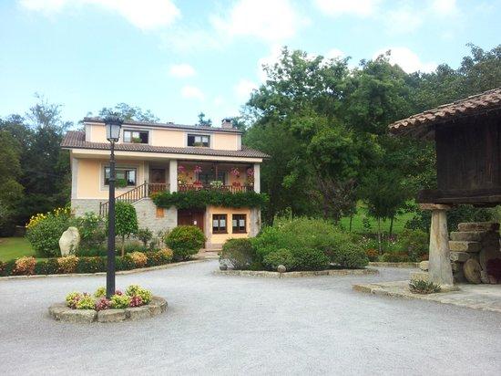 Santu Colás: vista de la casa general