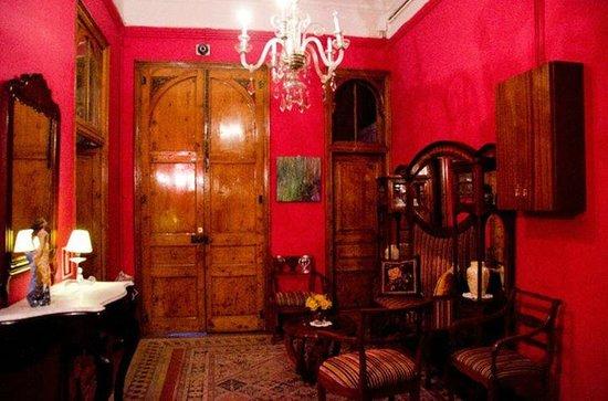 Hostal Girona: В холле отеля