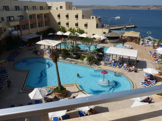 The Riviera Resort & Spa: room with a view.