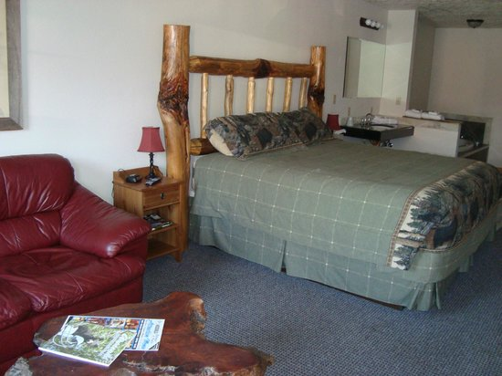 Grizzly Den Motel: Special King room with Jacuzzi