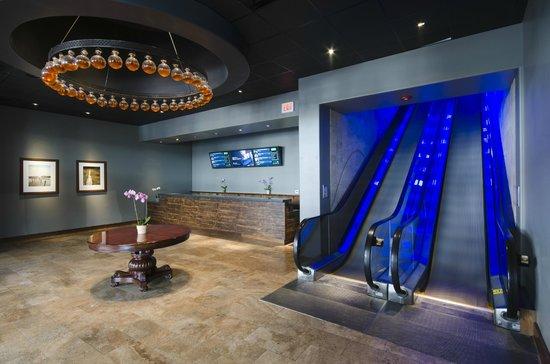 Studio Movie Grill: Escalator to SMG Dine-In Theaters