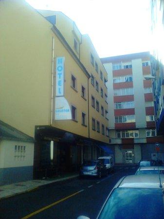 Hotel Galatea: Fachada principal hotel