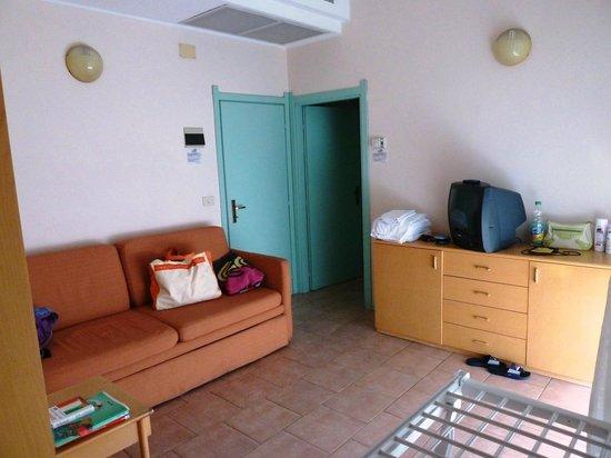 Bellariva Feeling Hotel - Zimmer Wohnbereich