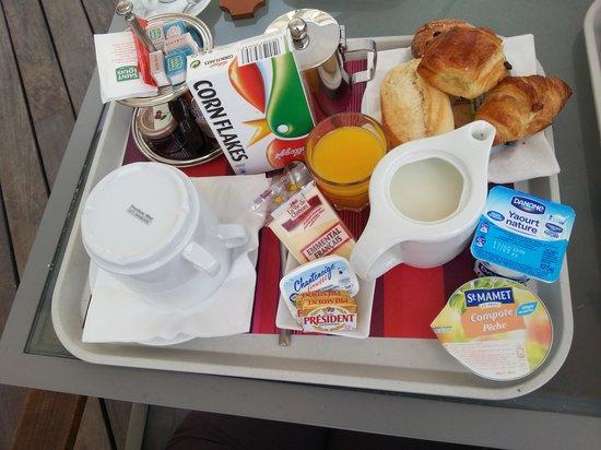 Le Tilbury : Vassoio colazione