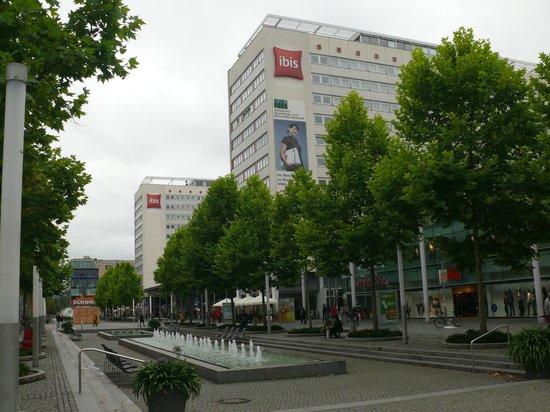Ibis Dresden Bastei: Hotel Aussenansicht