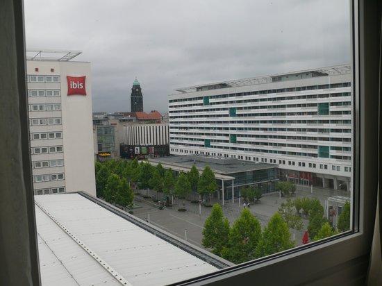 Ibis Dresden Bastei: Blick aus dem Zimmer