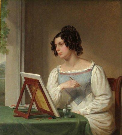Bristol Museum & Art Gallery: Harriet Isaac by Bristol artist Edward Rippingille c. 1829