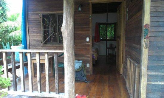 Cabinas Yamann: Veranda mit Blick in die Cabina