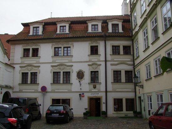 Hotel Waldstein: Front of Hotel
