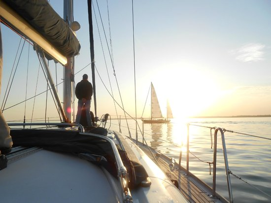 Escape Yachting - Day Sails: On the way back to Lymington