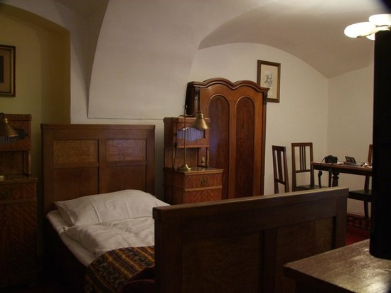 Hotel Waldstein: The twin room
