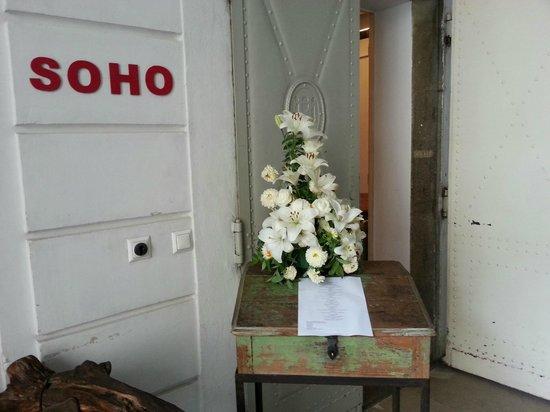 Soho: Eingang, im Foyer