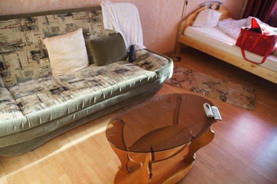 Kreshchatyk Guesthouse: грязь везде