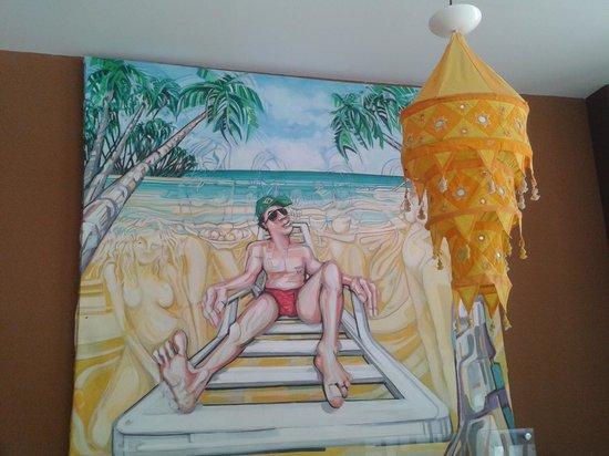 Pousada Borboleta: Sala Café da Manha.