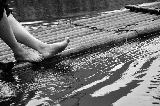 Mulong Lake: On The Bamboo Ride