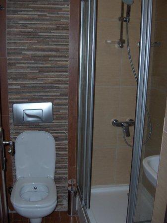 Konya Dervish Otel: small but clean bathroom