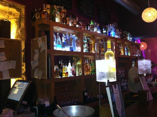 Feduchy Lounge: Barra del bar