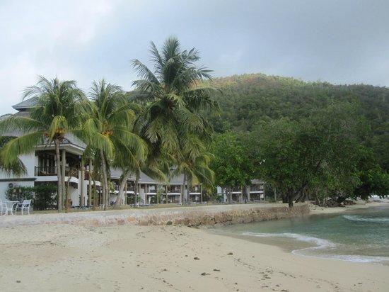 Le Domaine de La Reserve: playa