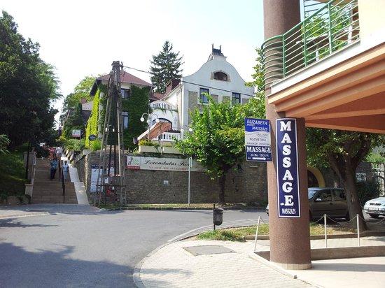 Park Hotel Heviz: Frontseite des Hotels