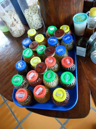 Pousada Casa Da Geleia: Geléias no café da manhã