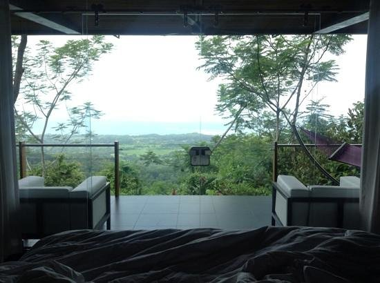 Kura Design Villas Uvita: view from the bed!