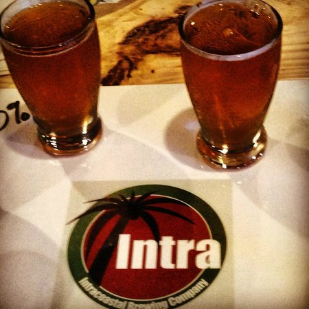 Intracoastal Brewing Company: Flights are a good way to sample all the beers