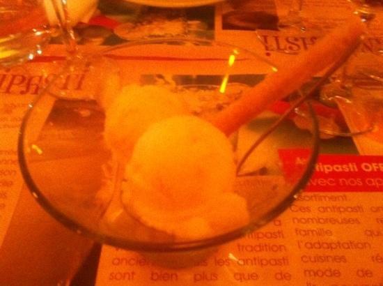 La Piazza Papa : glace lemone