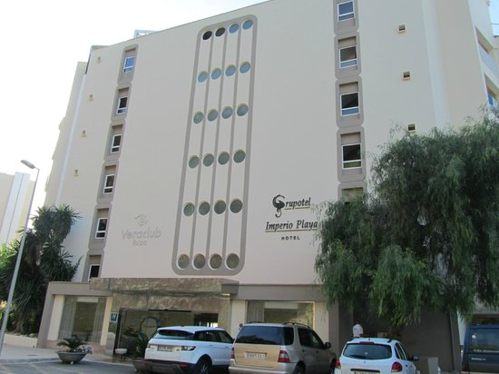 Veraclub Ibiza: Ingresso struttura