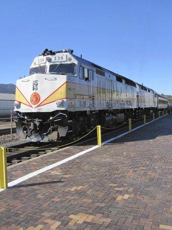 Grand Canyon Railway: Engine