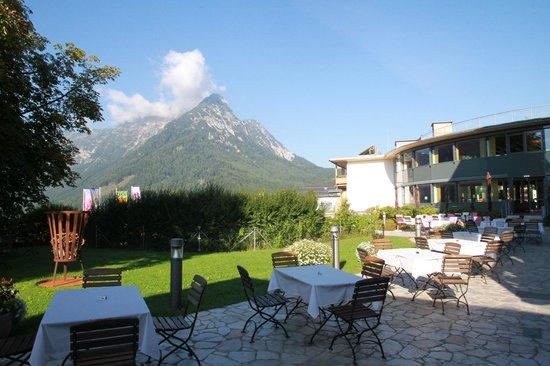 G'sund & Natur Hotel DIE WASNERIN: Frühstück im freien