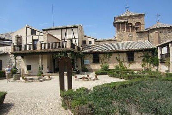 Museo del Greco : 美術館の中庭